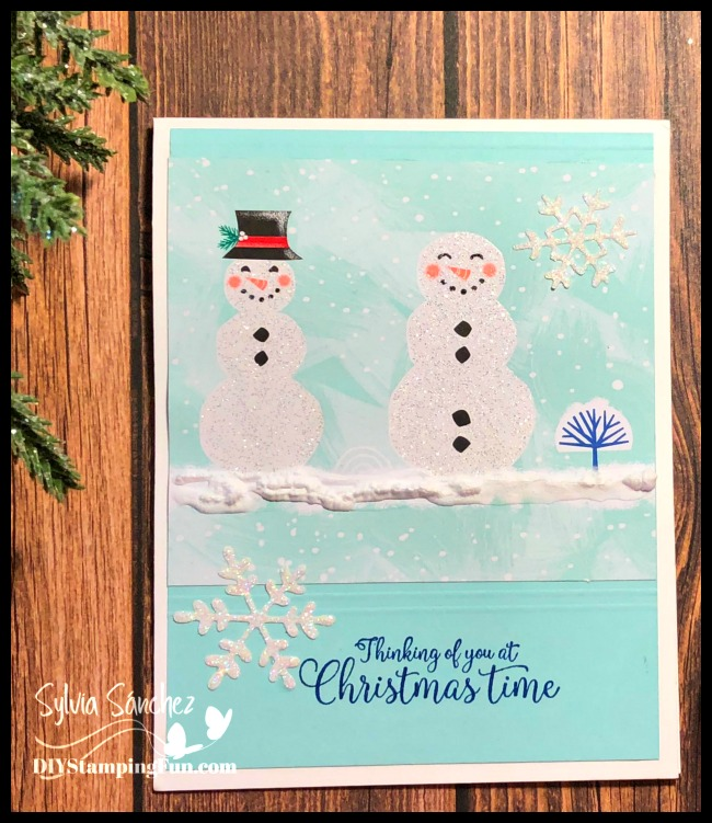 Stampin Up Let it Snow Specialty Designer Series Paper
