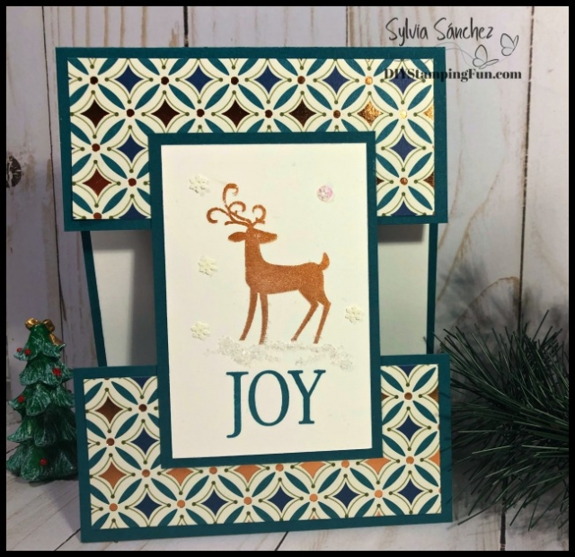 Fun & Fancy Fold Christmas Card