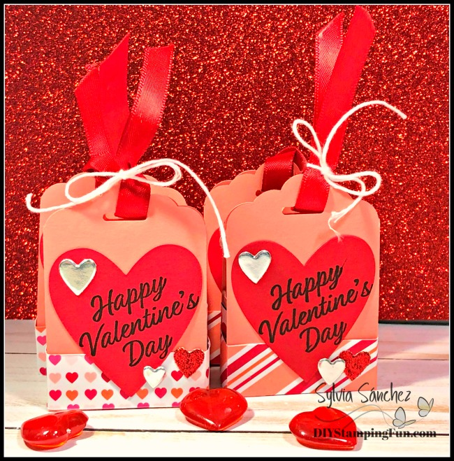 Valentine's Day Treat Holder Tutorial