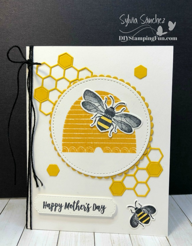 Honey Bee Bundle Mother's Day Card